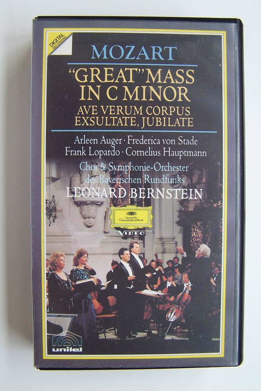 Mozart: Great Mass In C Minor VHS Tape