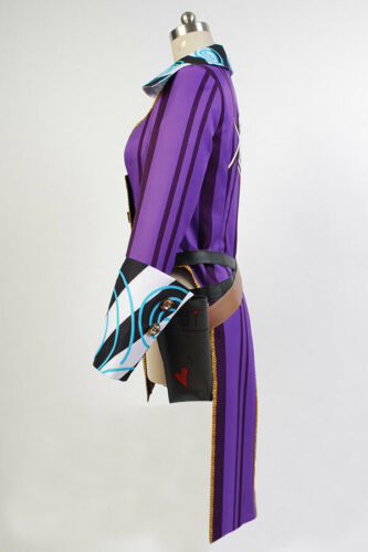 Borderlands COSplay Costume Mad Moxxi Attire Dress Hat+Belt Suit Outfit Full Set