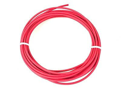 AUTOMOTIVE GXL WIRE 20 AWG HIGH TEMP STRANDED COPPER RED 25 FT COIL