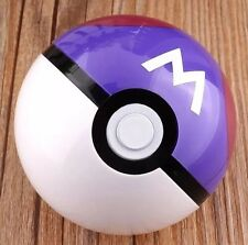 Pokemon Pokeball Master Ball Plastic Pop-up Toy 7 cm Diameter US Seller