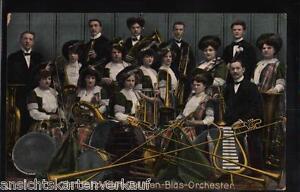 235.357 Janietz-Elite-Damen-Blas-Orchester, gl1911 - Marburg, Deutschland - 235.357 Janietz-Elite-Damen-Blas-Orchester, gl1911 - Marburg, Deutschland