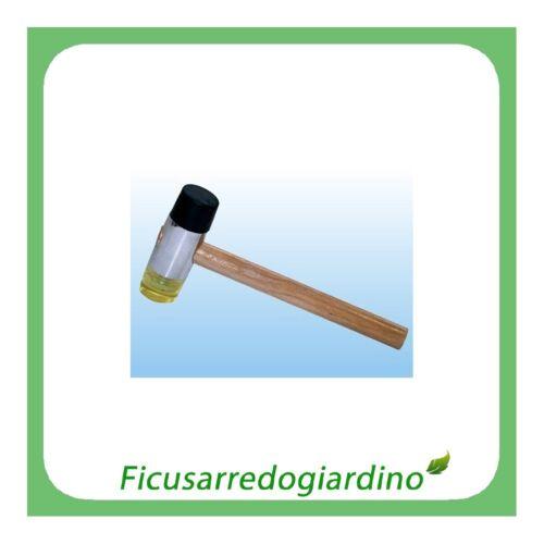 MARTELLO A IN PVC PER PIASTRELLISTI MARTELLO GOMMA PVC TESTA � 30 mm 111050