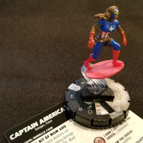 033 CAPTAIN AMERICA RARE Figure Heroclix Avengers Infinity Set #33