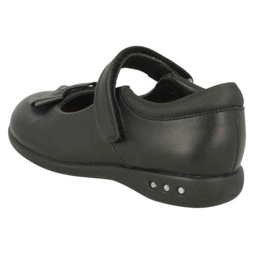 d33ffd3989e Charol De Zapatos Colegio Cuero Clarks Prime O Negro Niña Skip Elegante  qFYpz