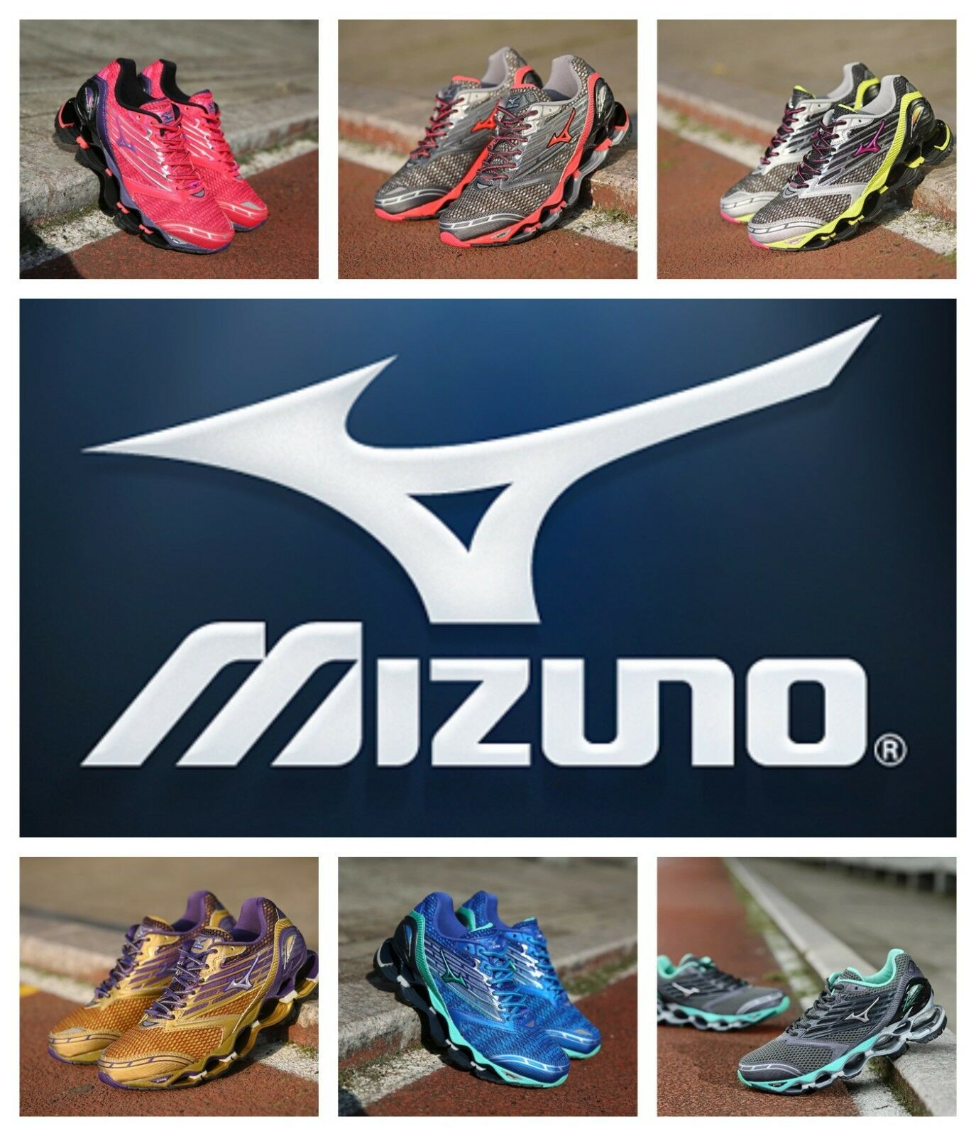 NEW 2018 Mizuno Woman Wave Prophecy 5 shoes 7 color FREE SHIPPING