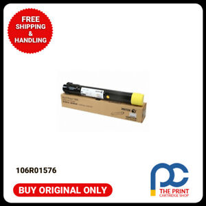 New-amp-Original-Fuji-Xerox-106R01576-Phaser-7800dn-Genuine-Yellow-Toner-Cartridge