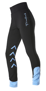 Firefoot Ripon Childrens Stretch Breeches Black//Sky