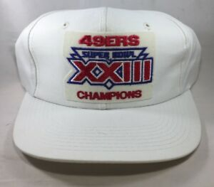 2009bde99 Image is loading SAN-FRANCISCO-49ers-Super-Bowl-XXIII-Champions-VTG-