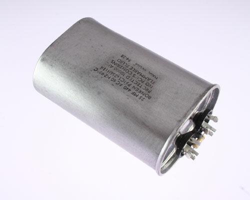 2x 25uF 440VAC MOTOR RUN condensateur 440 V climatisation 25mfd 440 V Pompe Unité 25 MFD