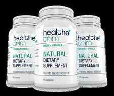Healthe Trim Thermo-Energy Booster Healthy Weight Loss Dietary Supplement Pills