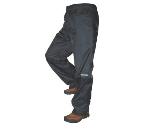 Columbia Big Men Rebel Roamer Rain Pants Size 1X Waterproof Tall fishing Black