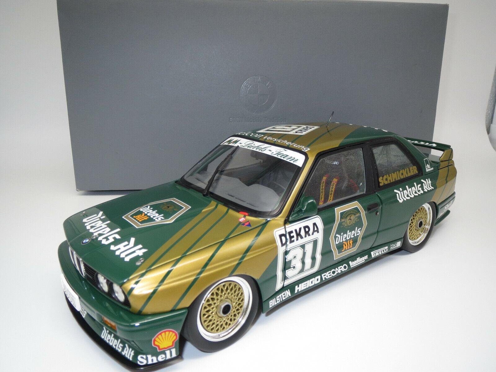 Minichamps  BMW  M3   Championship 1990   (F.Schmickler  31) 1 18  OVP