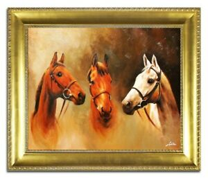 Oil-Painting-Pictures-Hand-Painted-with-Frame-Baroque-Art-G04436