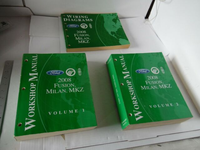 2008 Ford Fusion Milan Mkz Workshop Shop Repair Manual