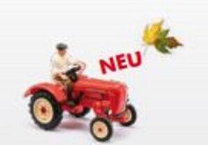 Busch-50012-Tractor-Junior-K-With-Bauer-H0-New-2020
