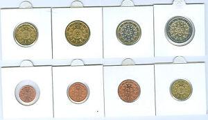 PORTUGAL 1 cent à 2 Euro Kursmünzenset (Choisissez Entre: 2002 - 2019)