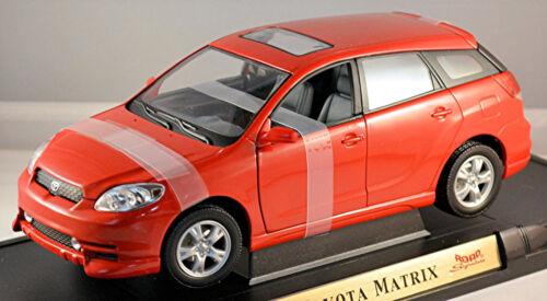 Toyota Matrix 1. Génération 2002-04 Rouge Rouge 1:18 Yat Ming