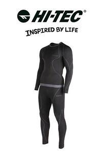Hi tec hombre deporte esqu ropa t rmica interior funcional ibar set m xxl ebay - Ropa interior xxl ...