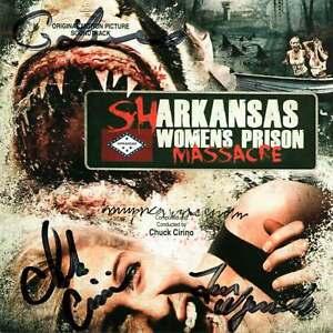 AUTOGRAPHED Sharkansas Womens Prison Massacre SOUNDTRACK CD 500 Limited Edition