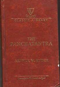 The-Panchatantra-Arthur-W-Ryder