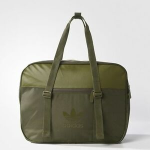 BRAND NEW $85 Adidas Airliner AC Bag Sport Olive Cargo BK6739