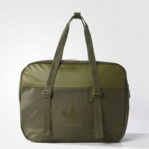 BRAND-NEW-85-Adidas-Airliner-AC-Bag-Sport-Olive-Cargo-BK6739