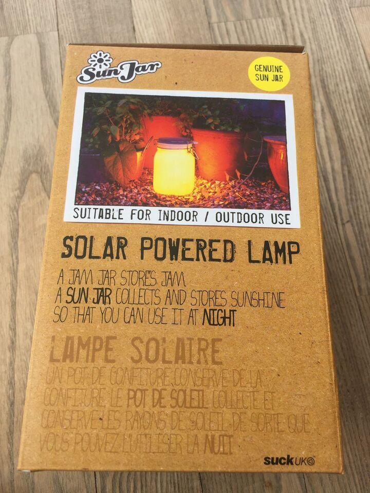 Anden bordlampe, Sun jar