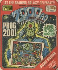 2000AD ft JUDGE DREDD - PROGS available from 101 to PRESENT* BUY NOW!! ALL VGC