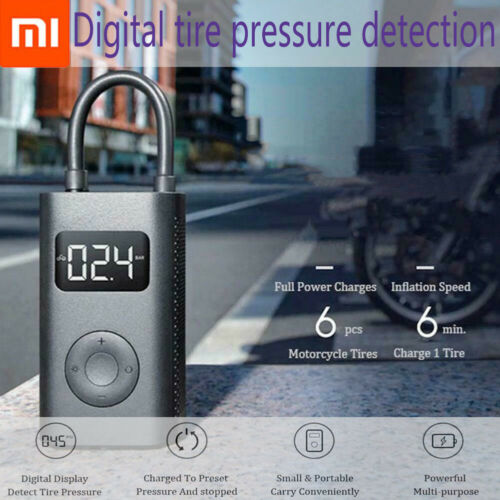 100/% Xiaomi Mijia Inflatable Treasure Detection Ball Pump For Bicycle Motorcycle