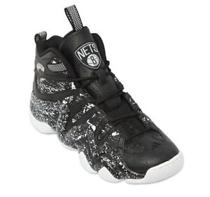 Og Crazy 8 Adidas Nets' blanc Retro Noir Baskets 'brooklyn Uk9 S83938 Rare w4AASnfzq
