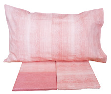 Lenzuola completo set letto MAE IN COLORS 100/% Cotone 150//180 fili Made in Italy