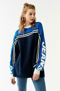 b747e8c8 Image is loading Tommy-Hilfiger-X-Urban-Outfitters-Jeans-Oversized-Racing-