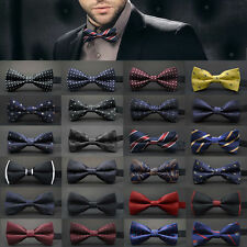 Fashion Adjustable Satin Men Tuxedo Classic Novelty Wedding Bow Tie Necktie