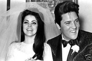 Elvis-Priscilla-Presley-Wedding-10x8-Photo