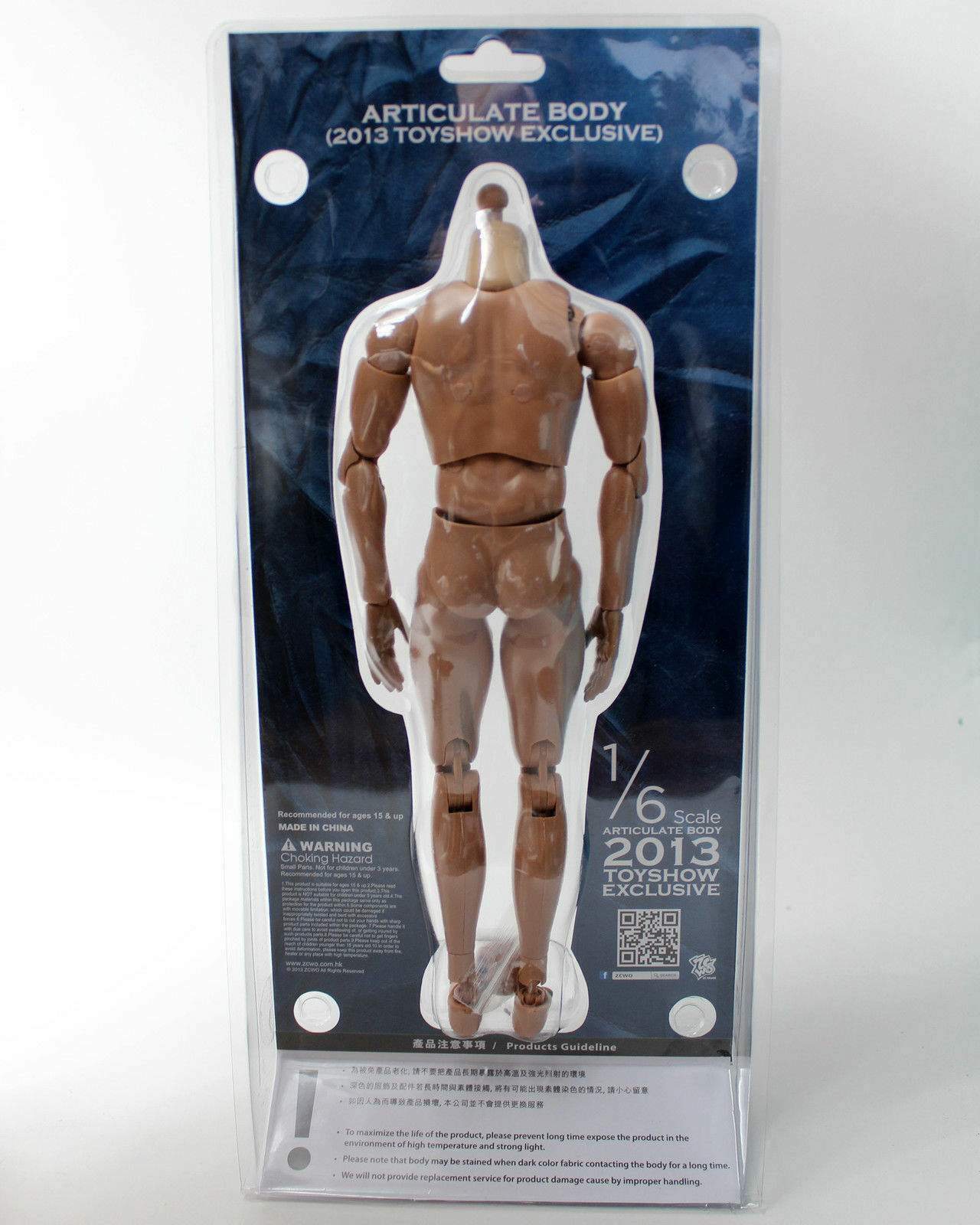 1 6 SCALE 2013 TOYSHOW EXCLUSIVE EXCLUSIVE EXCLUSIVE ARTICULATE BODY 02 601341
