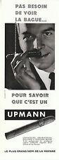 """Publicité Ancienne """" Cigares Upmann  """"  ( P. 25 )"""