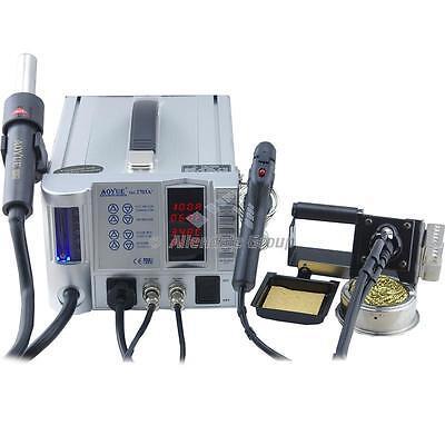 Aoyue 2703A+Reparing System Hot Air station Rework Soldering Iron Desolder Gun