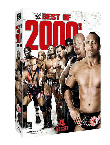 WWE: WWE Best of 2000's DVD (2017) The Rock cert 15 4 discs ***NEW***