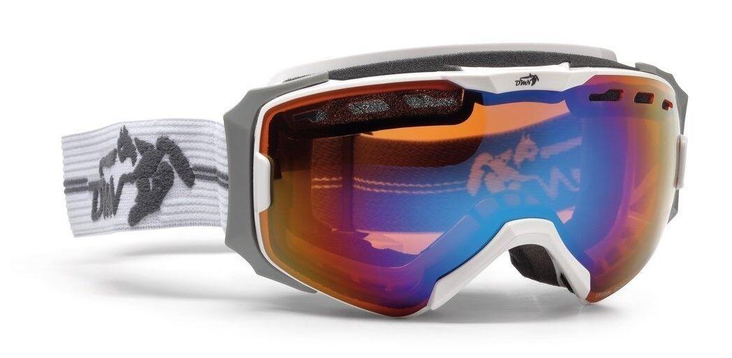 DMN Absolute Weiß grau 2016 Skibrille Snowboardbrille