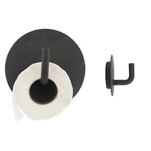 House Doctor Toilettenpapierhalter 2 Haken Text Schwarz Wc Bad Klo