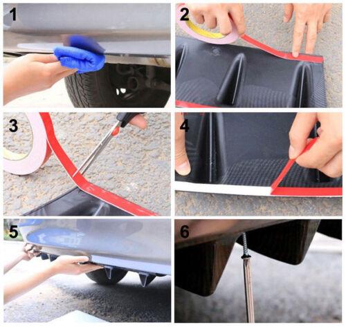 CARBON lack Diffusor für BMW X4 splitter klappe apron Stoßstange Heckschürze