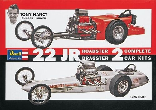 Revell 85-1224 1/25 Tony Nancy Dragster Set Plastik Modellbau Set Neu Im Karton Baukästen & Konstruktion