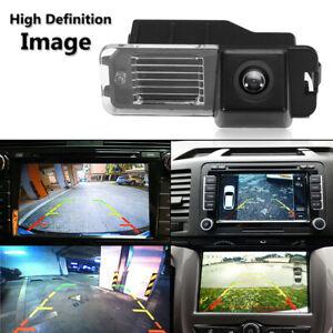 Kit-CCD-Camera-de-Recul-Vision-Arriere-Sans-Fil-pour-VW-Golf-VI-Polo-V-Passat-CC