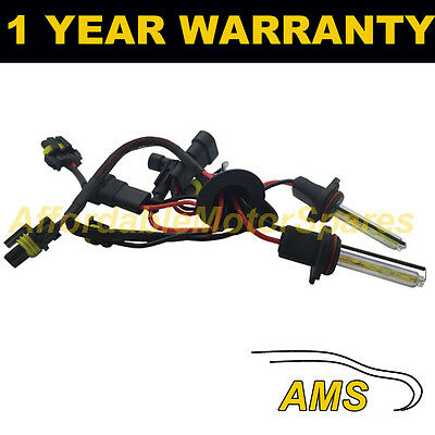 2X BULBS FOR AFTER MARKET HID CONVERSION KIT XENON 3000K YELLOW 35W WIRE IN