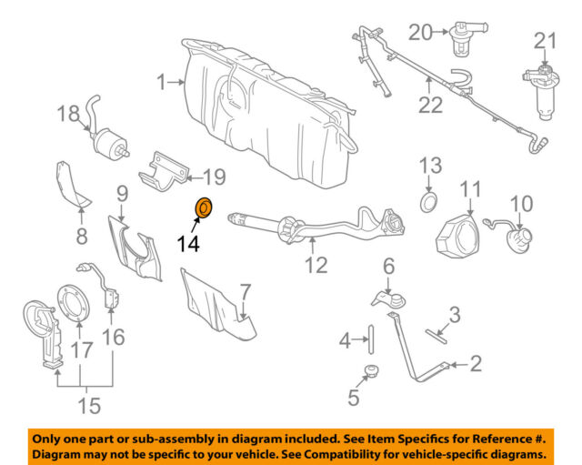 Genuine Ford Mercury OEM Fuel Tank Dust Cover Seal 8L8Z-9039-A