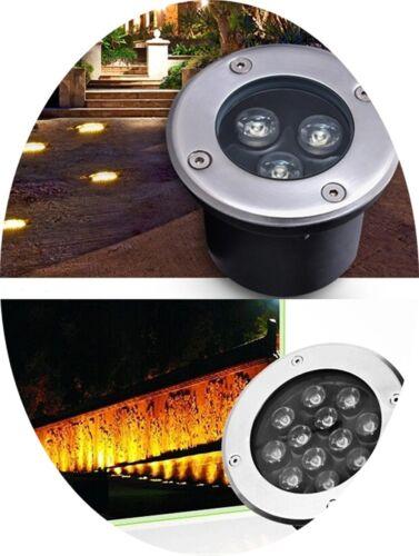 LED Underground Light Inground Lamp Outdoor Garden Path Landscape 1-36W 85V-265V
