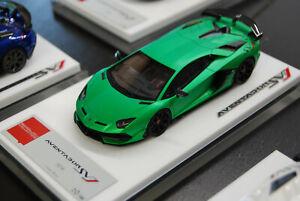 """1/43 MakeUp Lamborghini Aventador SVJ """"Pearl Green"""" - EM438A"""
