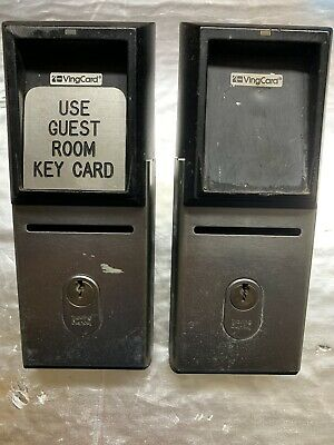 Used Vingcard VC6866 Remote Card Reader Qty 2