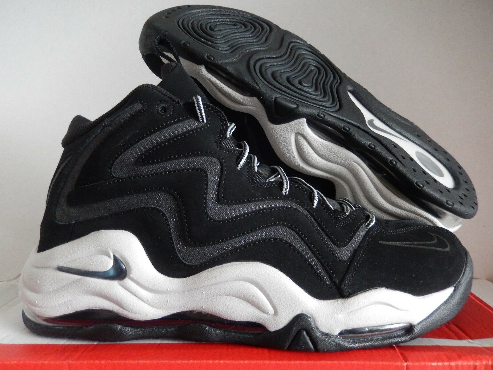 Nike air pippen nero-anthracite-vast grey sz 11 [325001-004]