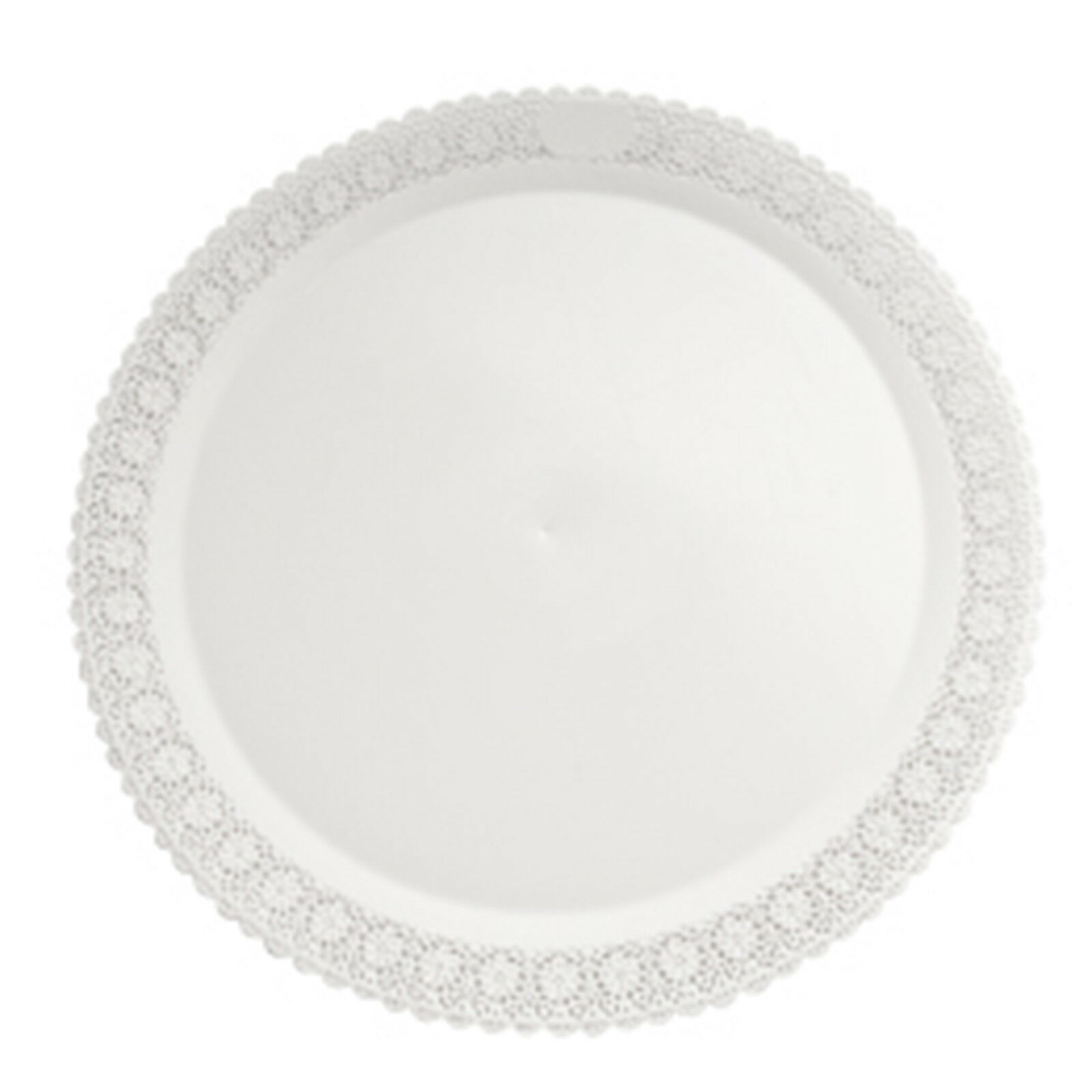 Mashers trondo 38 38 38 cm rossoondo bianco in plastica usa e getta che serve piatti – Confezione da 9 f547eb
